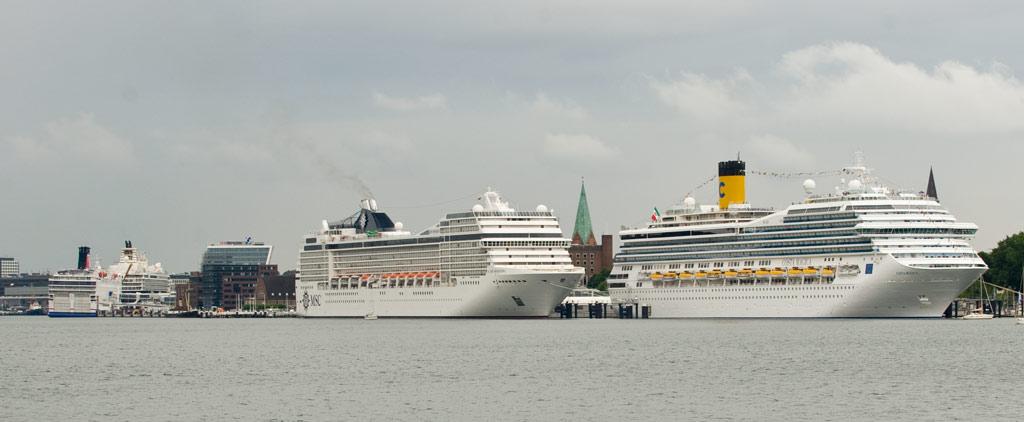 Schiffsanläufe Kiel 2014