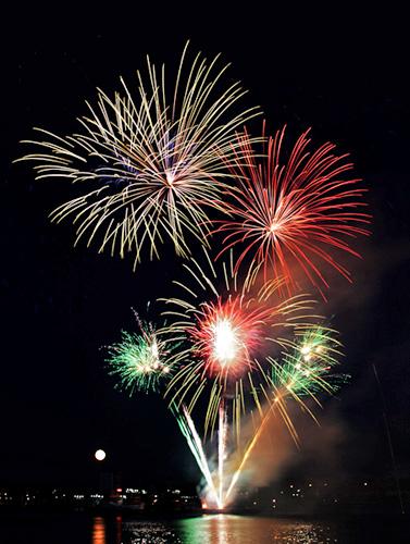 Feuerwerk Kiel 2013