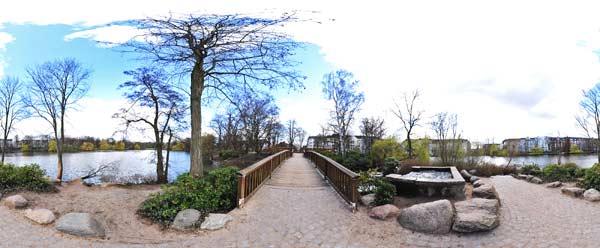 Schrevenpark im April